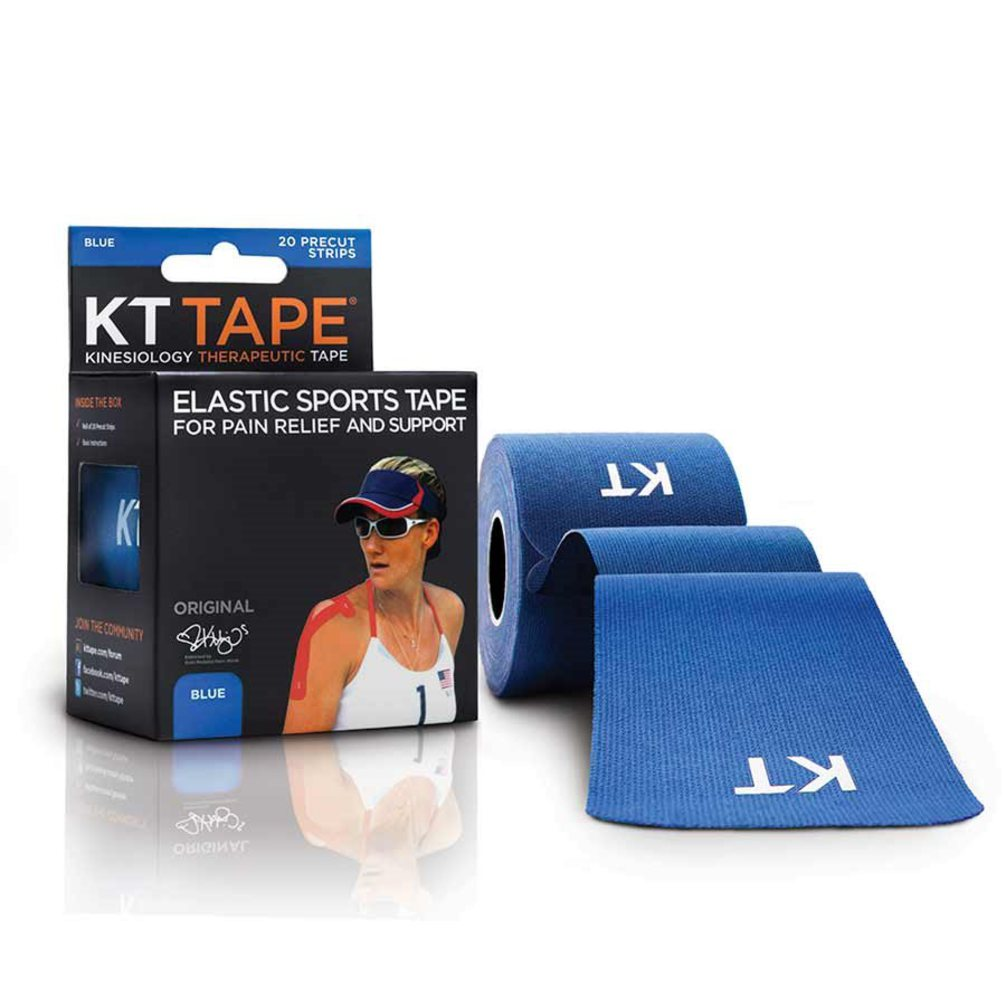 KT Tape Original Cotton 20 Strips Blue