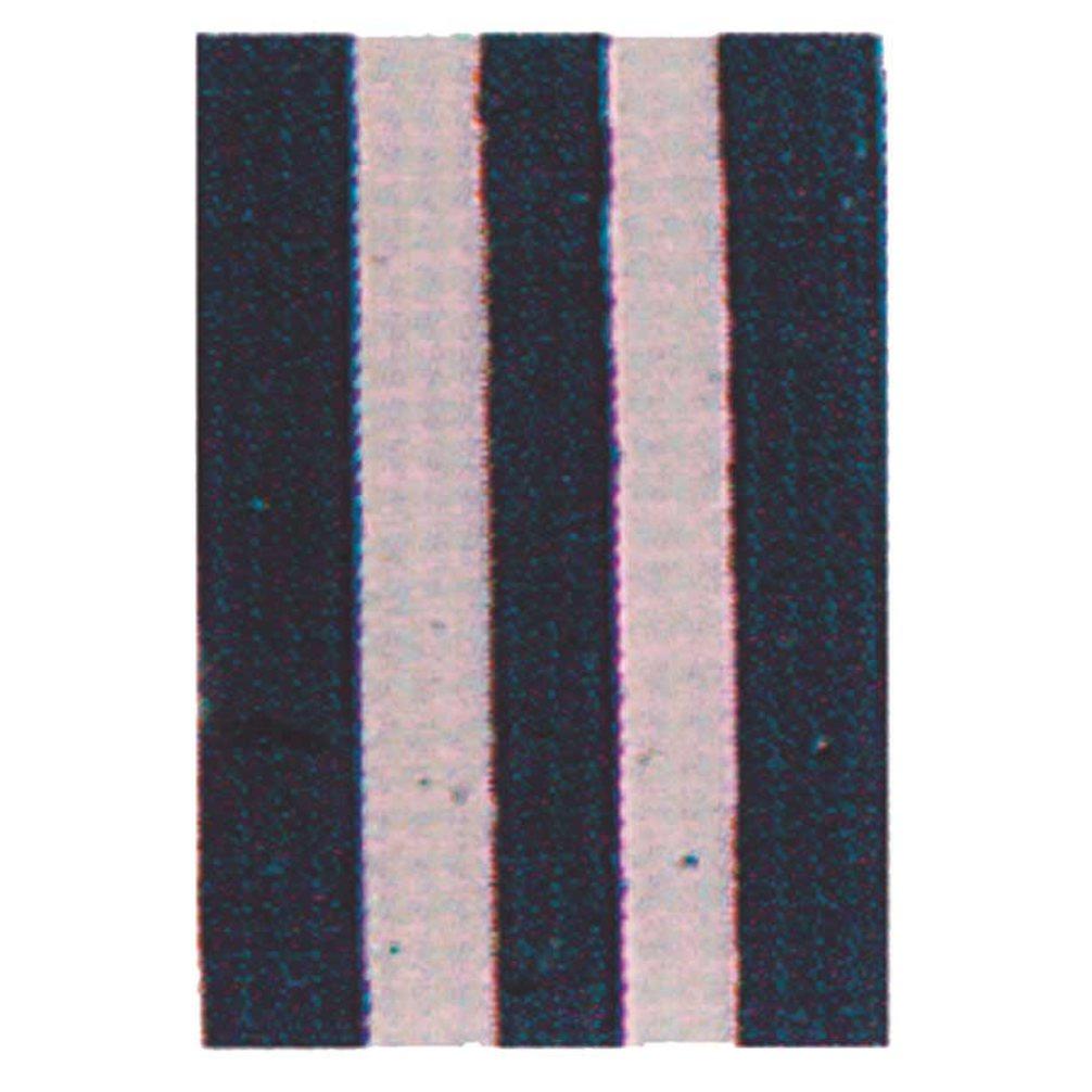 Cinelli Stripe Nastro manubrio in sughero Bianco/Nero