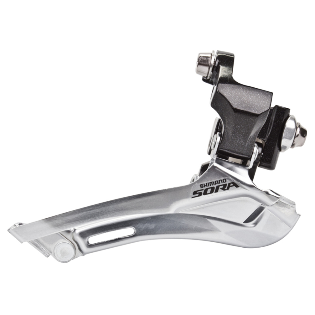 Shimano Sora 3500 9 Speed Double Braze-on Front Derailleur