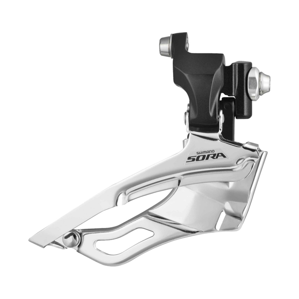 Shimano Sora FD3503 9 Speed Triple Braze-on Front Derailleur