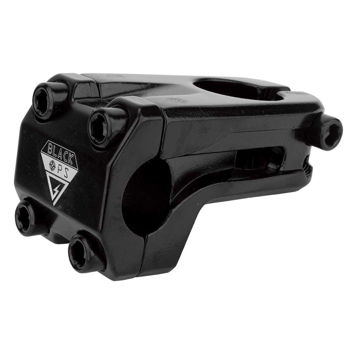 Black Ops Attacco manubrio BMX Ahead 1-1/8 Defend-R Nero