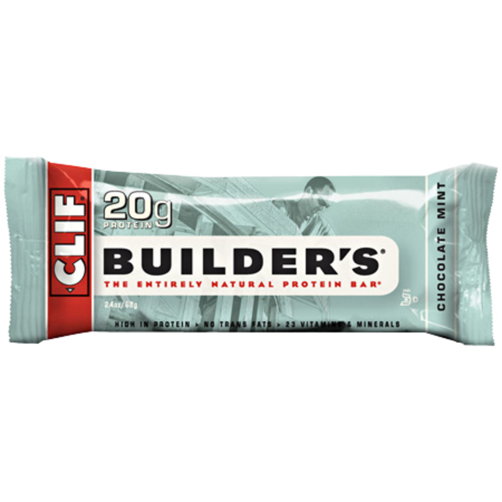 Clif Bar Builder's Bar: Chocolate Mint; Box of 12