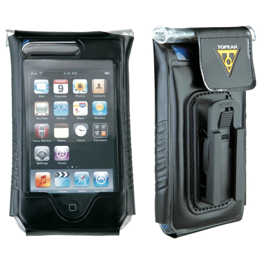 Borsa porta cellulare iPhone Topeak Dry: Nero