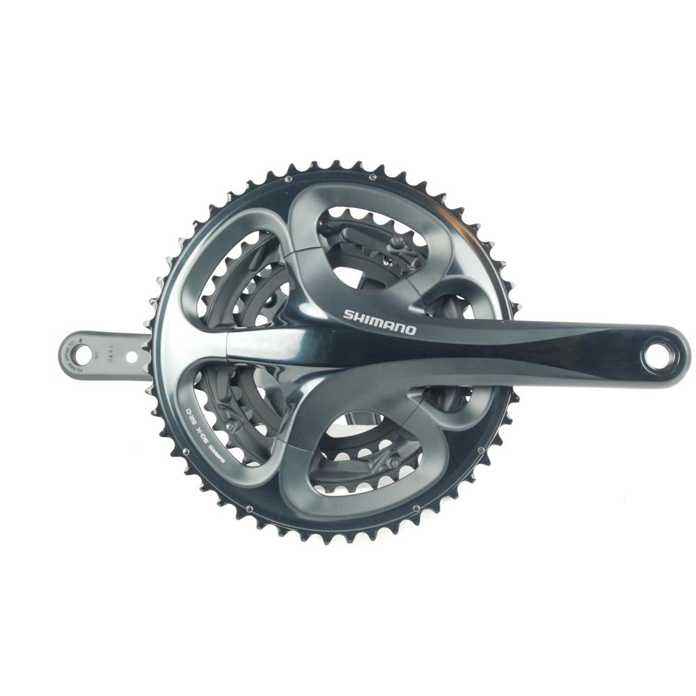 Guarnitura Stoker per tandem a 10 velocità Shimano R603 175 mm 52/39/30T Nero