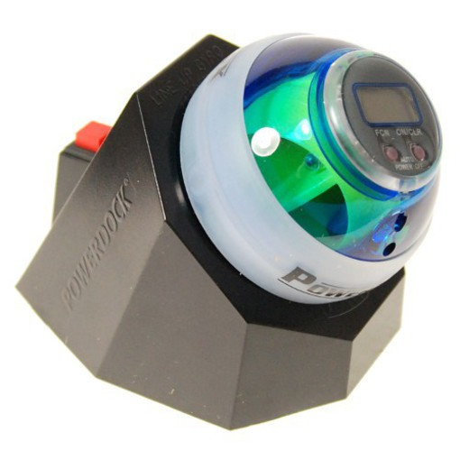 DynaFlex DFX Powerball Blue with Docking Station Gyro Exerciser at Sears.com