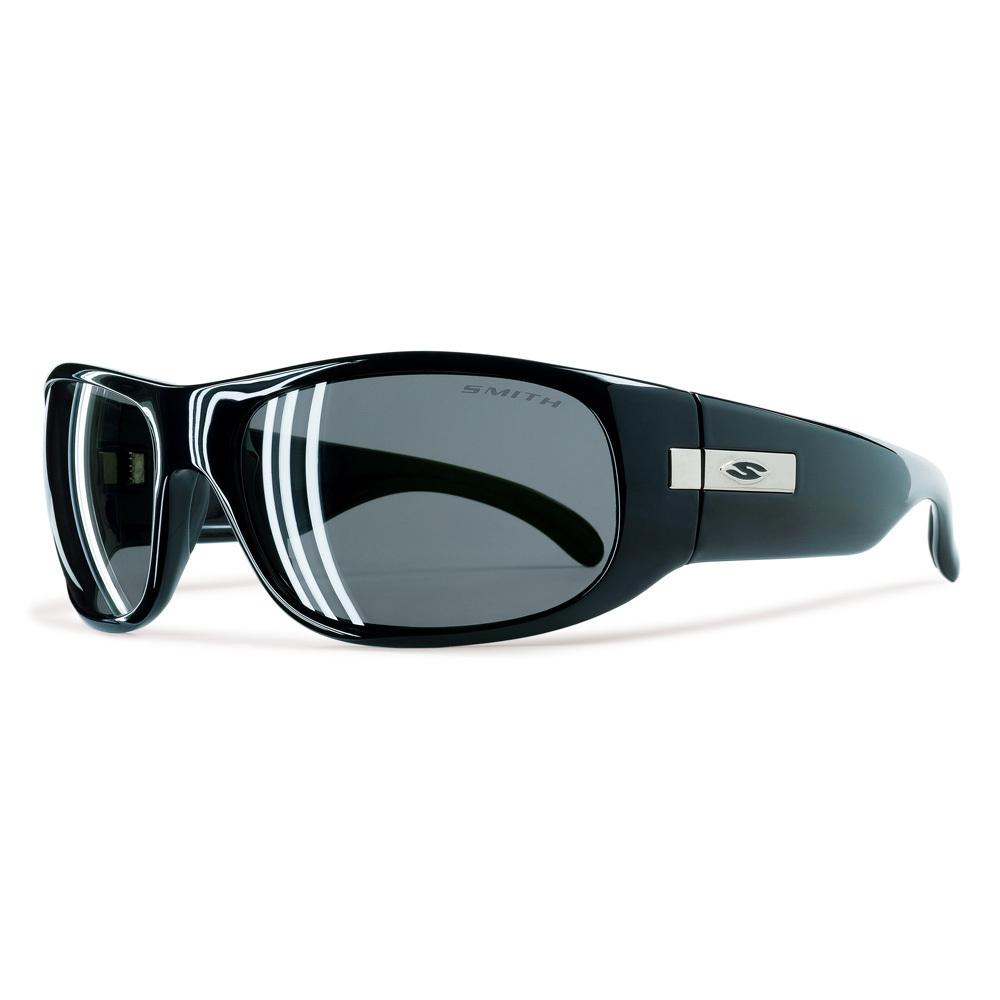 f8fe93ecb6717 Smith Optics Mogul Sunglasses Black w Polarized Gray Lens on PopScreen