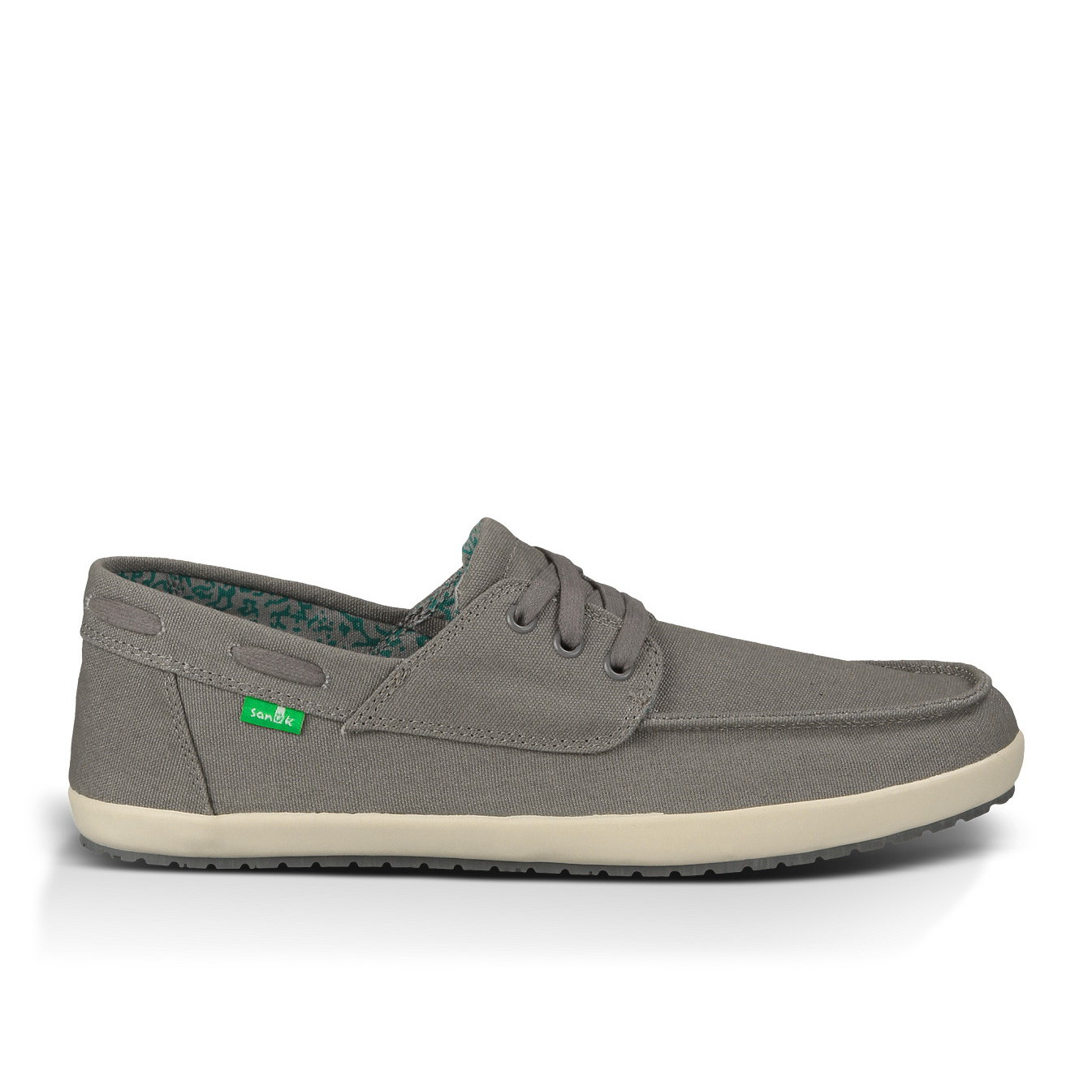 sanuk casa barco s canvas shoes charcoal 12 ebay