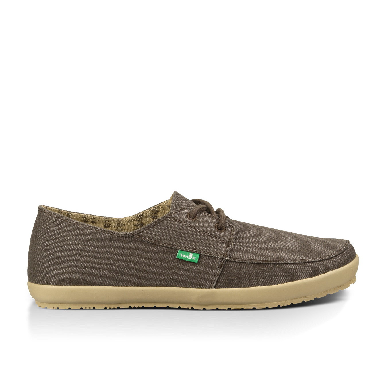 sanuk knock out s canvas shoes brown washed 9 ebay