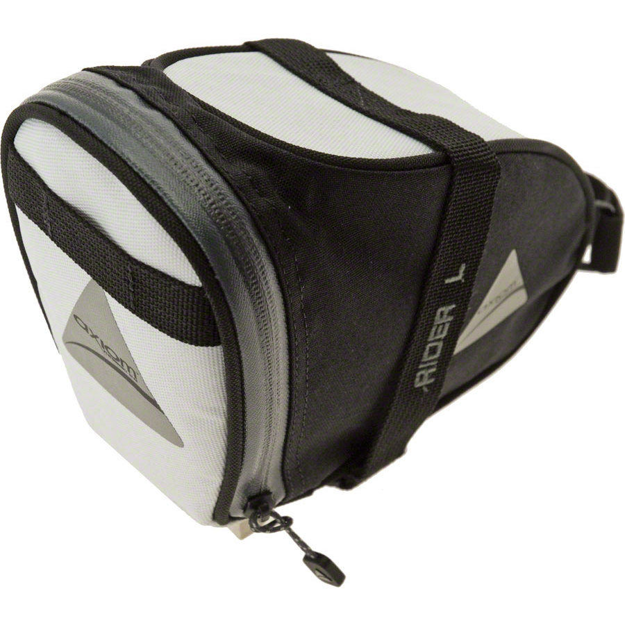 Axiom Rider DLX Seat Bag White/Black Large