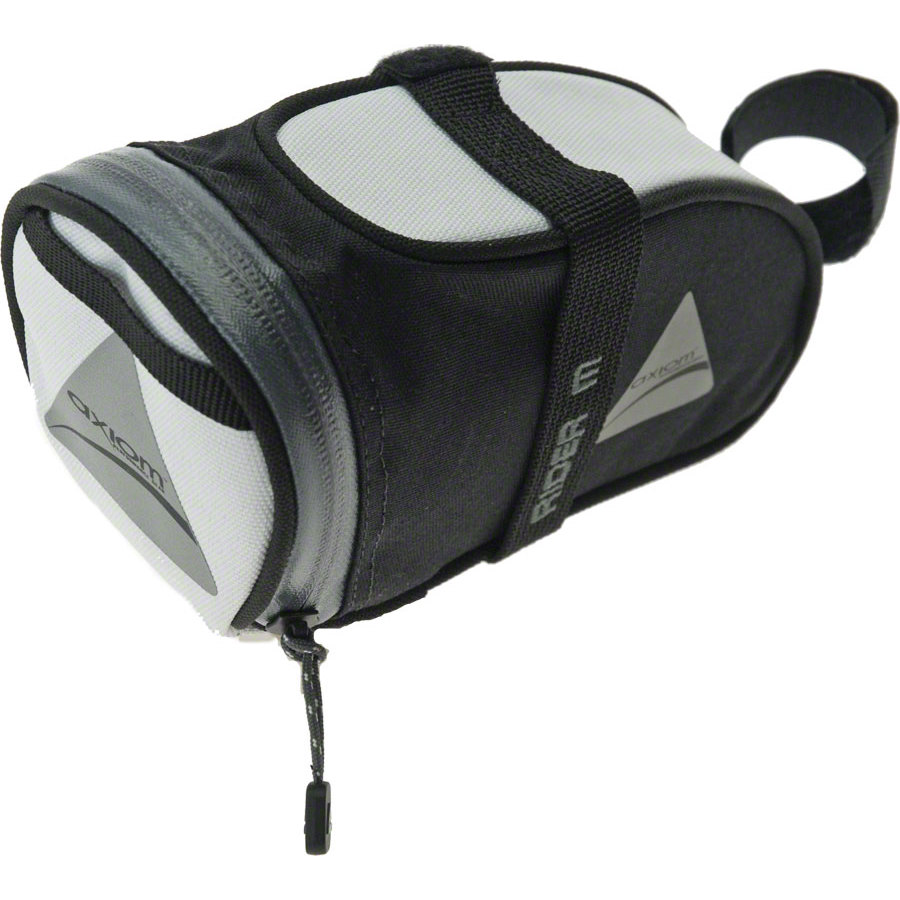 Axiom Rider DLX Seat Bag White/Black Medium