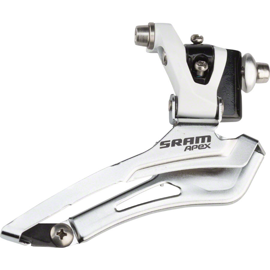 SRAM-Apex-Braze-on-Front-Derailleur-White