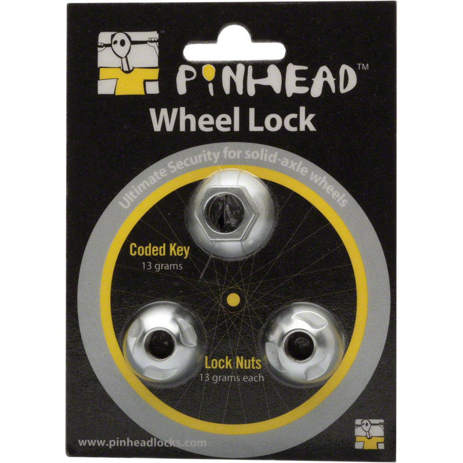 Pinhead Solid Axle M10 Wheel Lock