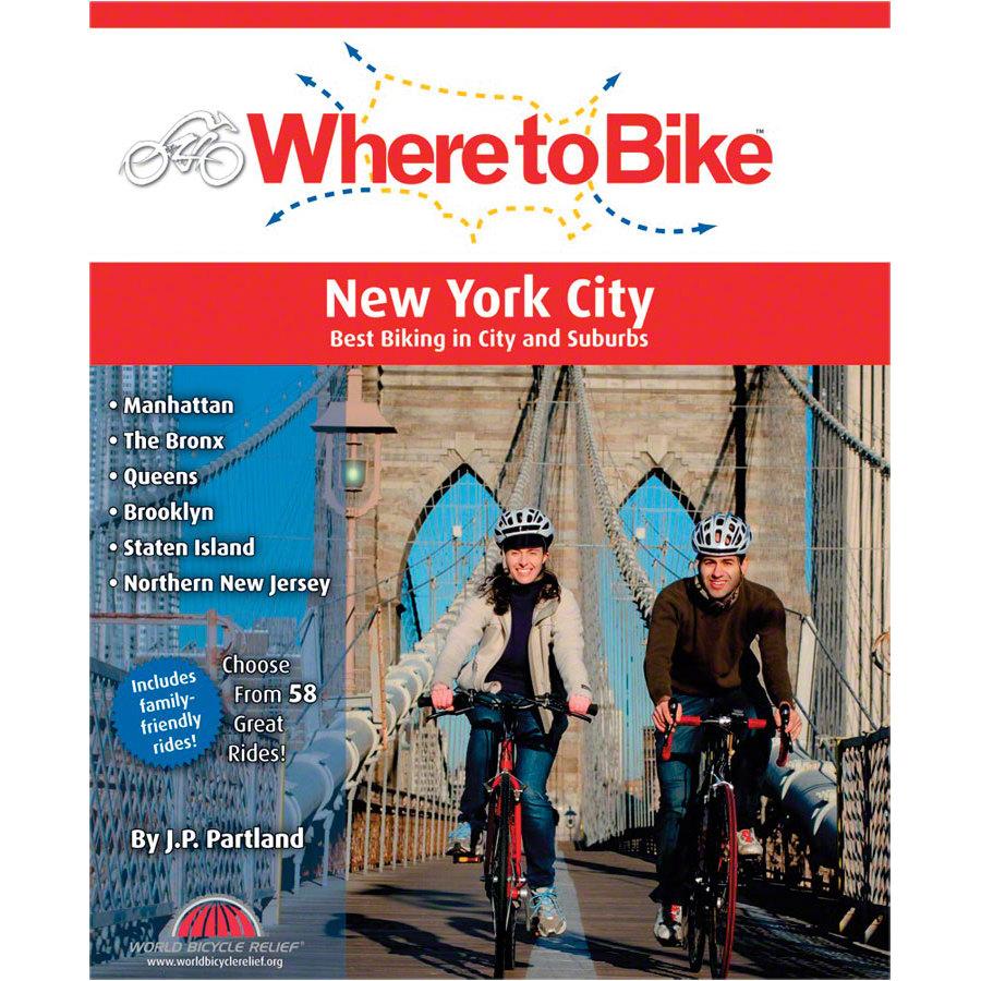 Where to Bike Ride Guide New York Box of 6