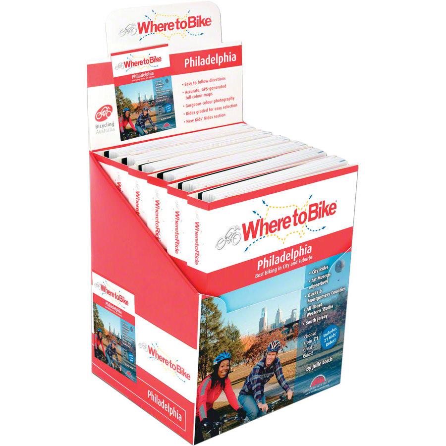 Where to Bike Ride Guide Philadelphia Box of 6