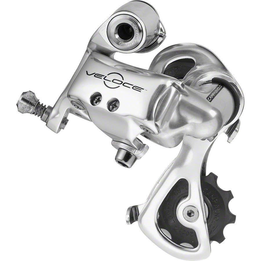 Campagnolo-Veloce-10speed-Rear-Derailleur-Short-Cage-Silver