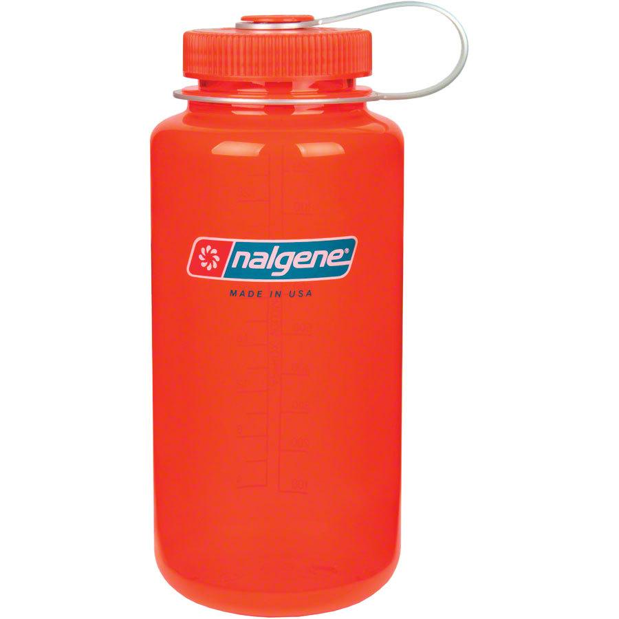 Nalgene Tritan Wide Mouth Water Bottle 32oz Safety Orange ...
