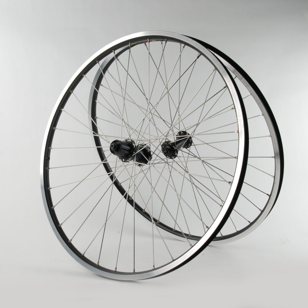 Mavic-XM317-Shimano-Rim-Brake-26x1-5-26-Mountain-Wheelset-7-8-9-Speed-Black