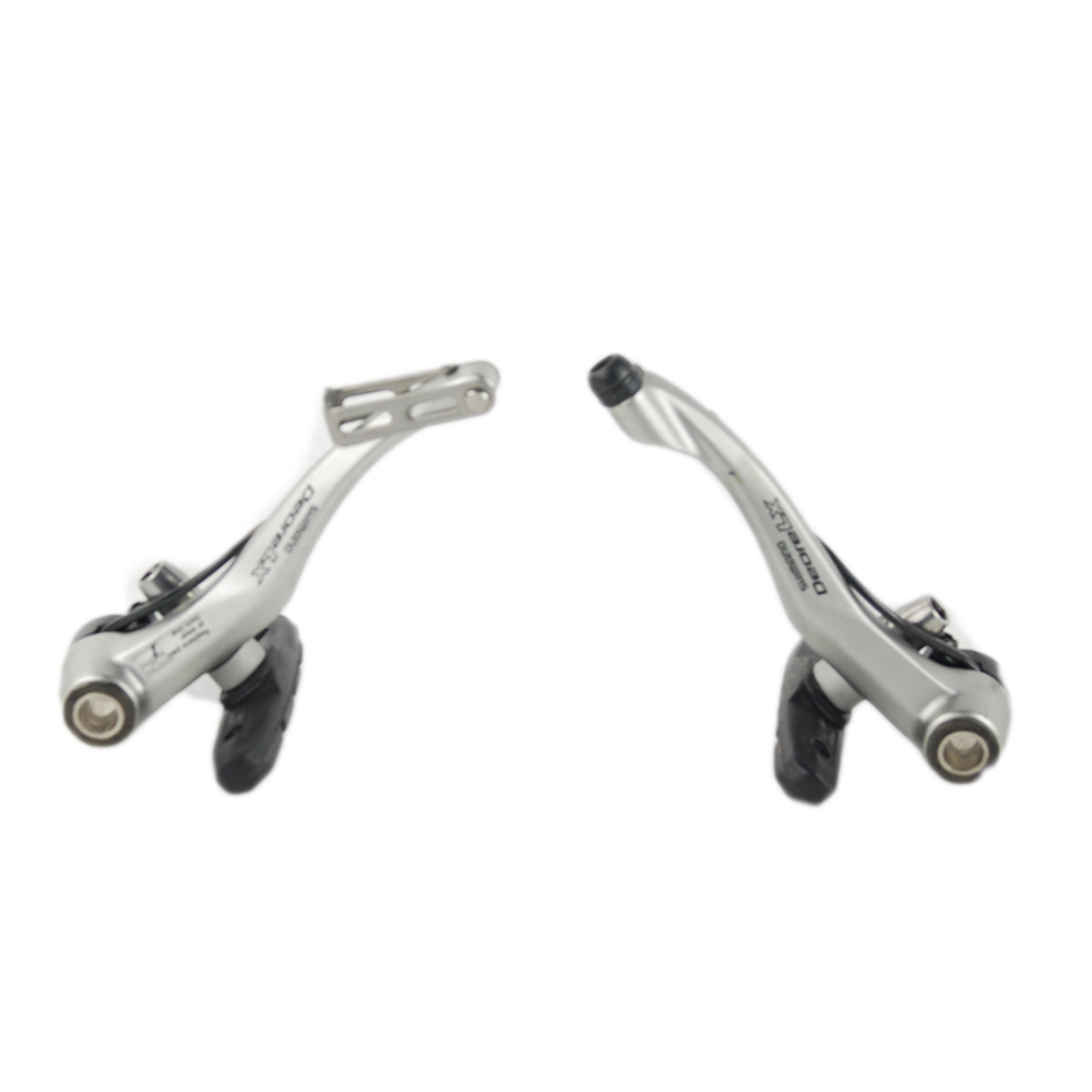 shimano lx br m580 linear pull v brakes silver ebay. Black Bedroom Furniture Sets. Home Design Ideas