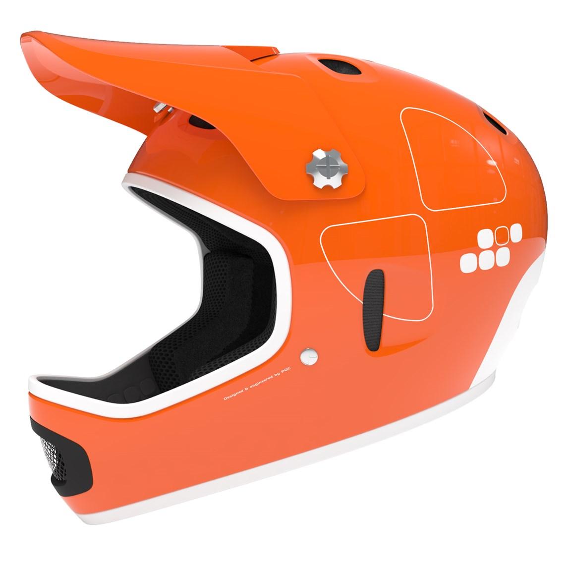2014 poc cortex flow full face downhill mtb helmet m l. Black Bedroom Furniture Sets. Home Design Ideas
