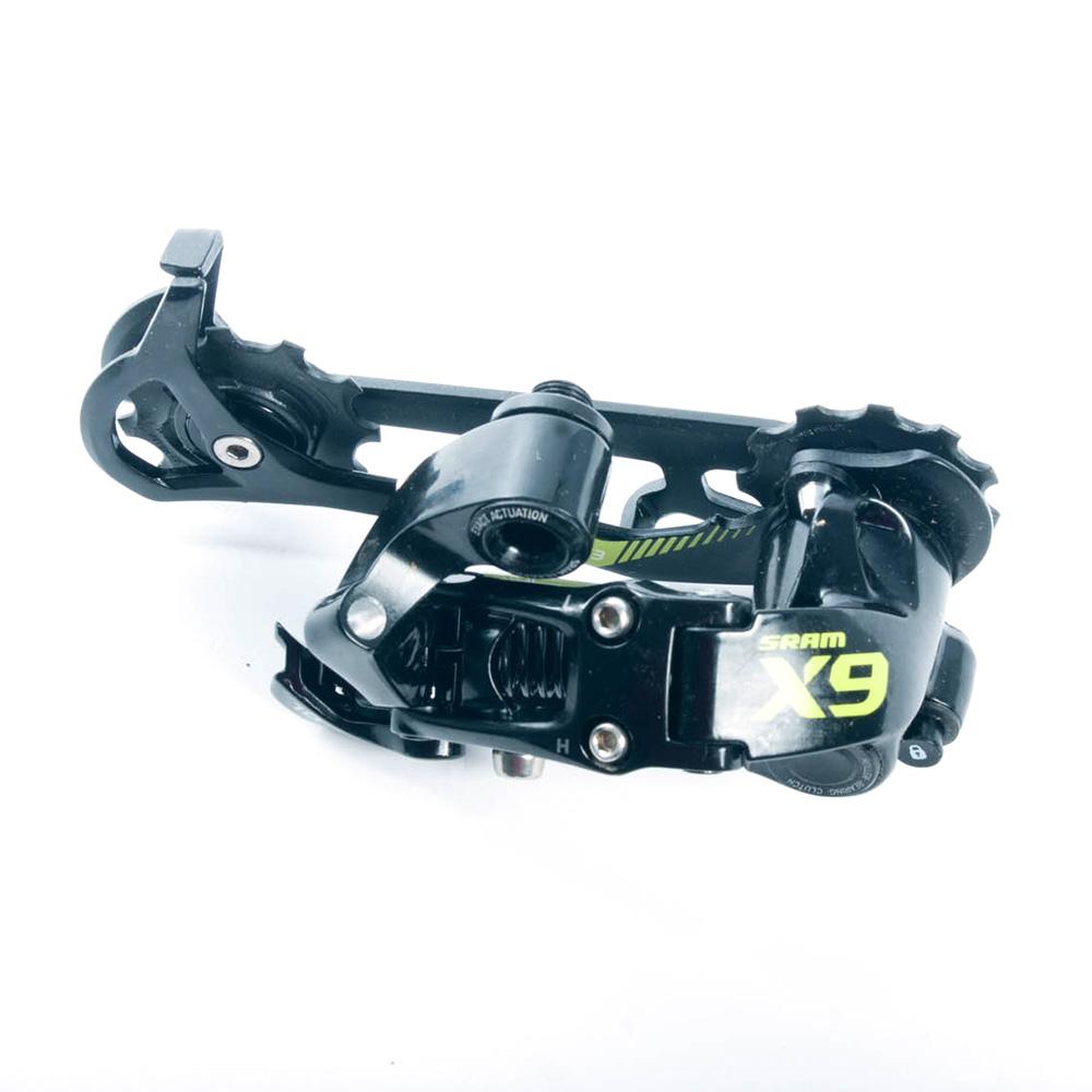 SRAM X9 Type 2 MTB Long Cage 10-speed Rear Derailleur Yellow   eBay
