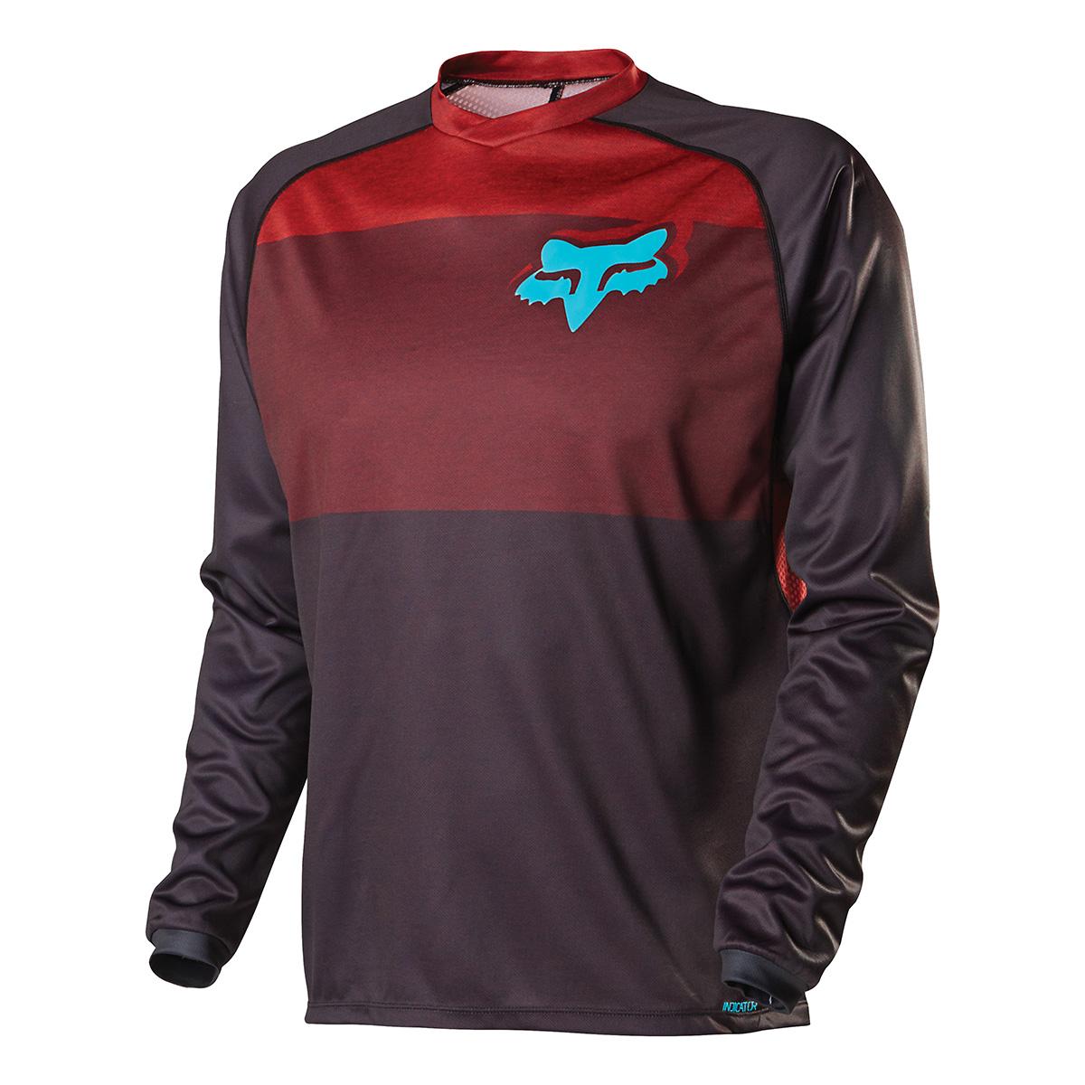 fox clothing indicator sleeve mtb jersey medium