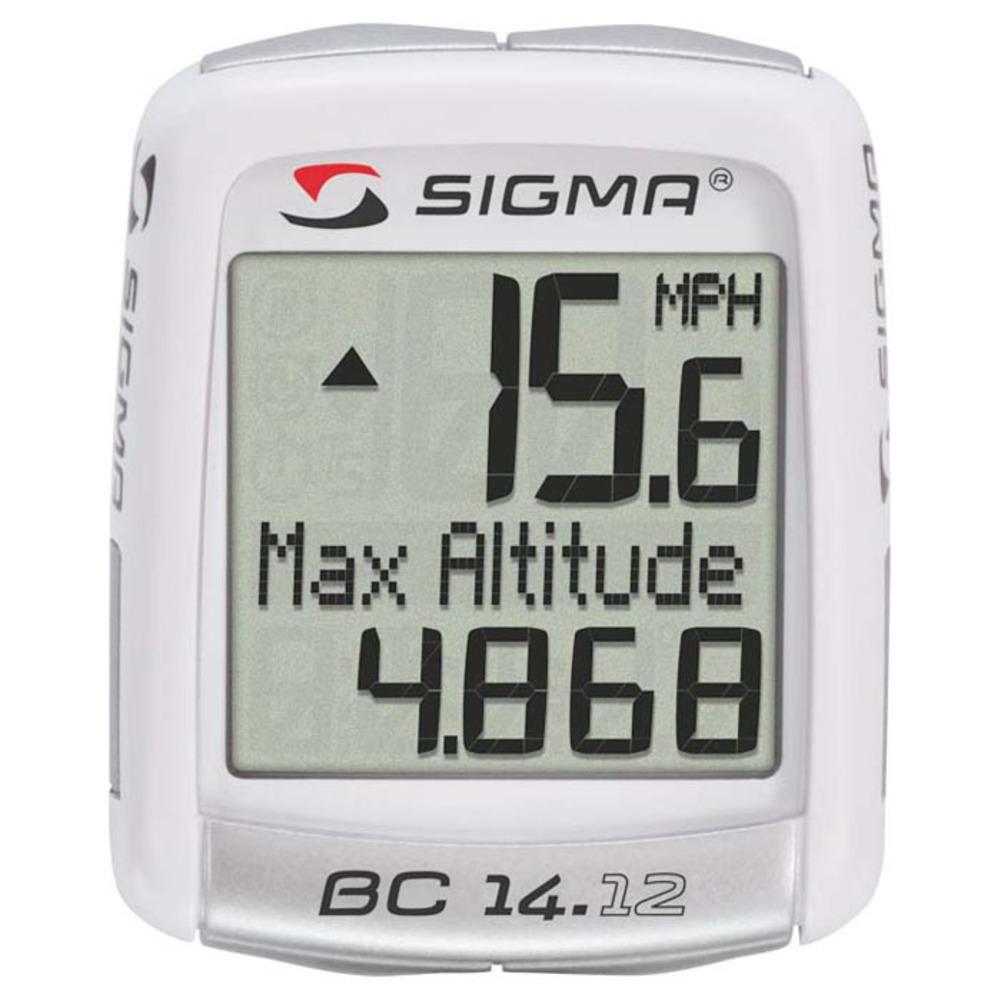 Sigma BC 14.12 Alti Cycling Computer White