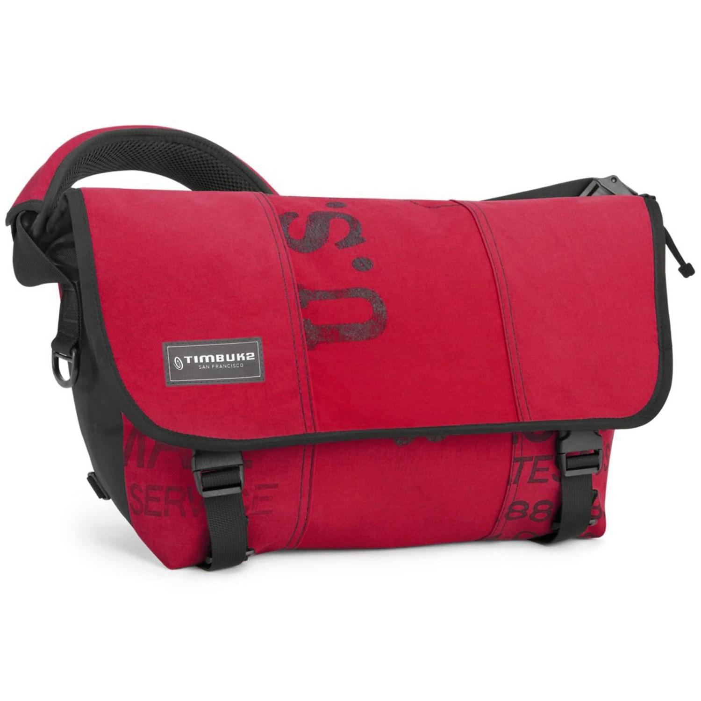 615753ba8777 Timbuk2 Terracycle Classic Messenger Bag Mailbag Crimson Medium .