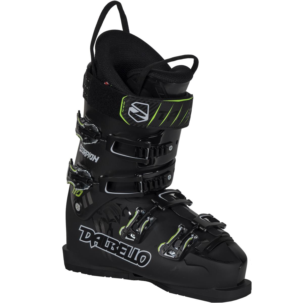 100% aito alennuskauppa Julkaisupäivä Details about Dalbello Scorpion 110 Ski Boots Black/Black 25.0