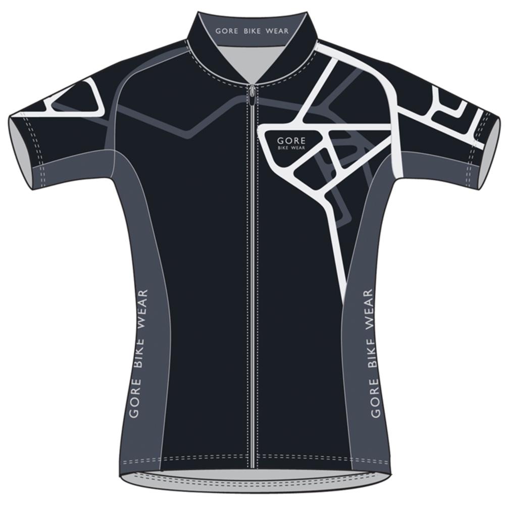 c7da42f9d Gore Bike Wear Women s Element Adrenaline Jersey Black White Small ...