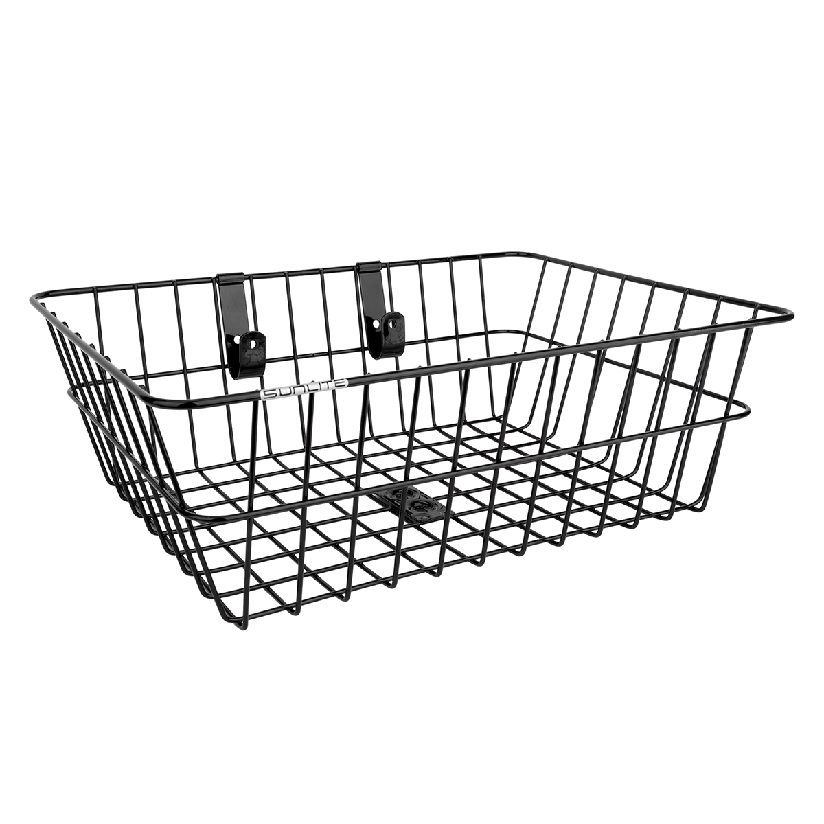 Sunlite Front Mesh Bottom Basket Wire Black with Fixed Hardware to fork 14x9x9