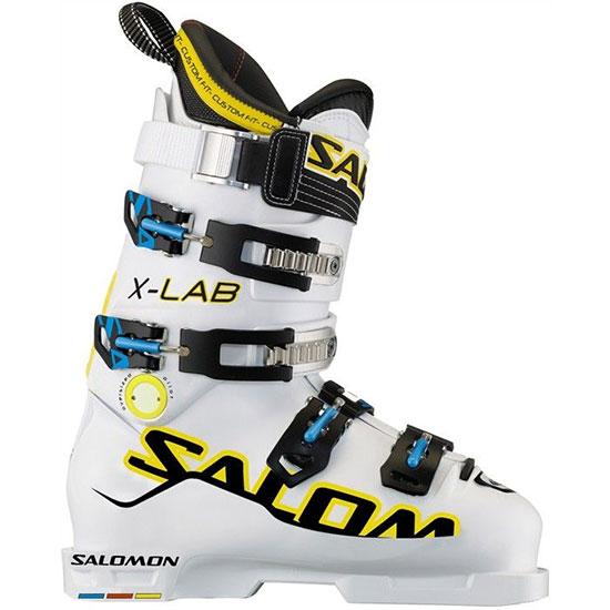 Détails sur Salomon X Lab Op Bottes Ski Blanc 26.5