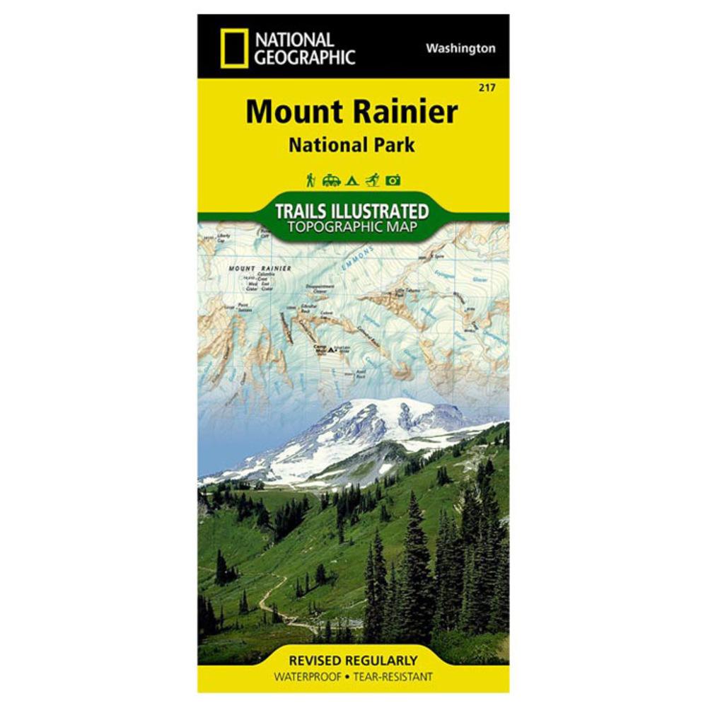 National Geographic Mount Rainier Nat Park 217 - $11.95