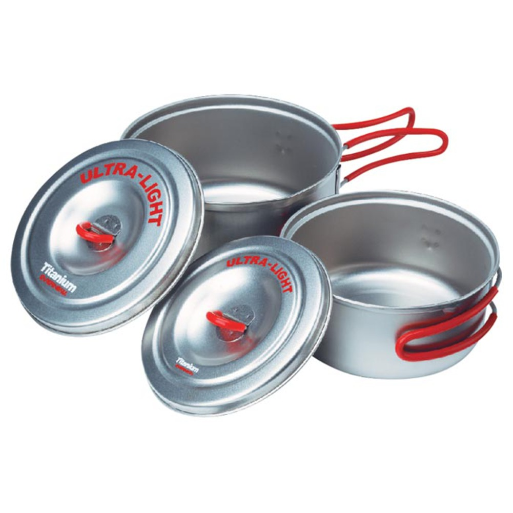 Evernew Titanium UL Sm Pot Set Sm UL 28d381