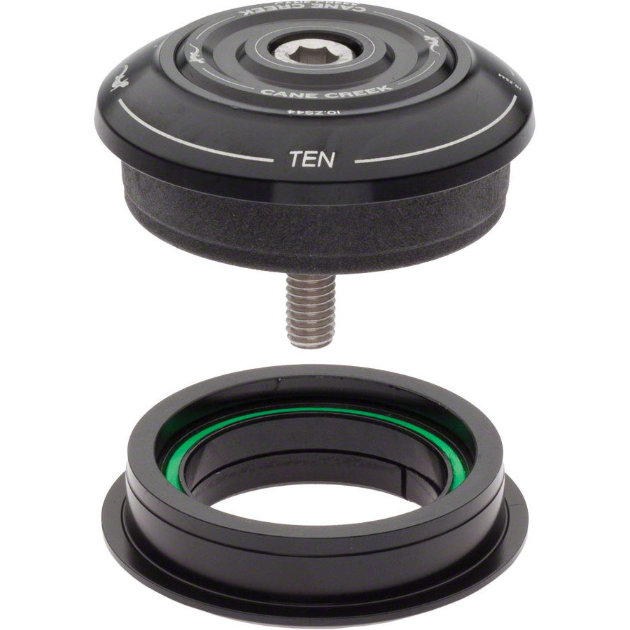 "Cane Creek 40 Series ZS44 Zero Stack 1-1//8/"" Threadless Straight 44mm Headset"