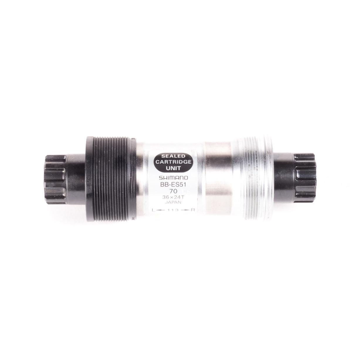 Shimano BB-TY30 Bottom Bracket Square Taper 70 x 122.5mm Black