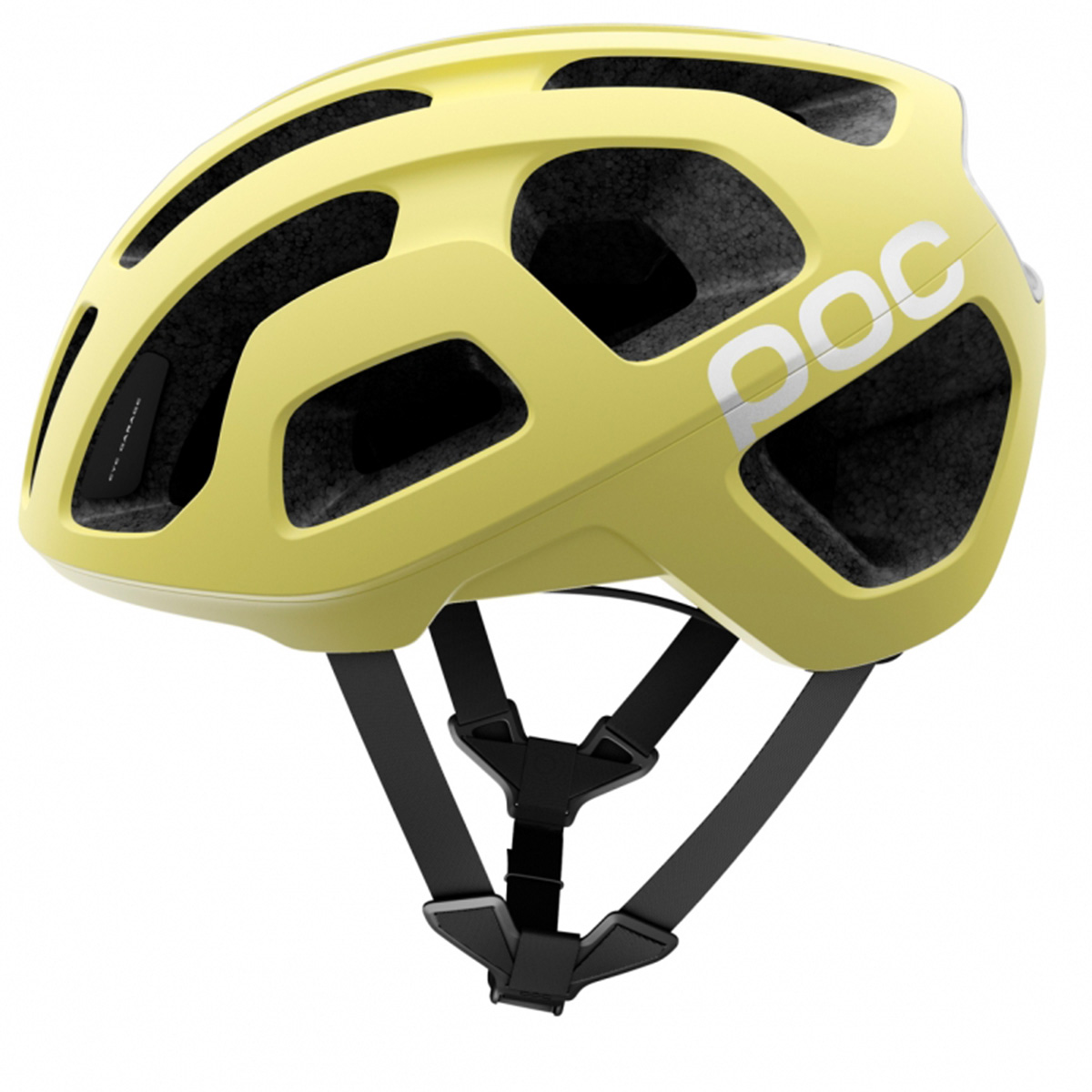 poc octal road bike helmet octane yellow medium ebay. Black Bedroom Furniture Sets. Home Design Ideas