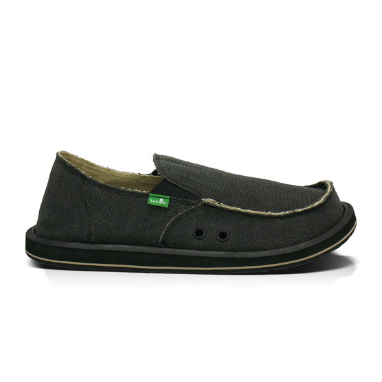 Vagabond Vagabond Shoe: Sanuk Vagabond Men's Shoes Charcoal 14 643388178772